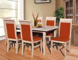Raffaello étkezőgarnitúra juhar színben